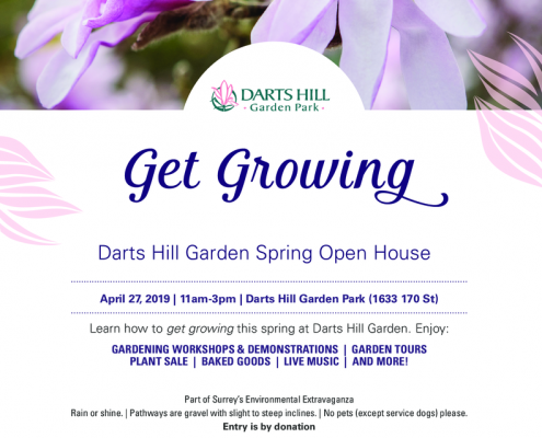 thumbnail of Get Growing Darts Hill Open House Poster
